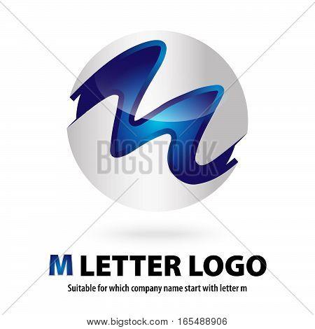 M Logo 3d M Images, Stock...