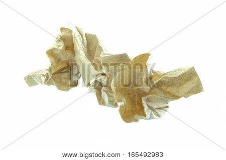 Used Tissue Paper