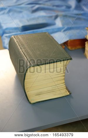 Large Heavy Book