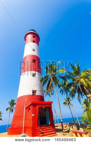 Kovalam Lighthouse Base Straight