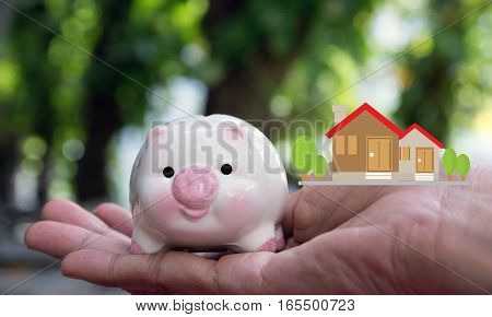 save money, save money concept, piggy save money concept, bank save money