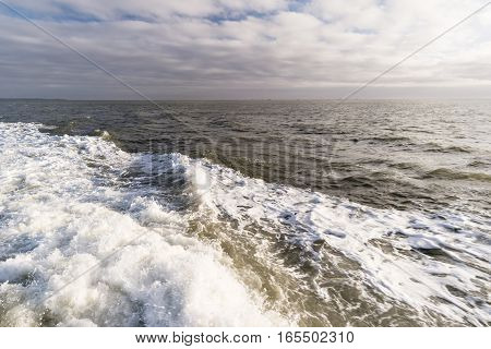 Roughened Water In The North Sea