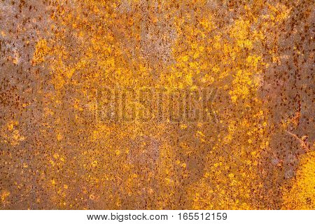 Old Iron Rust Background