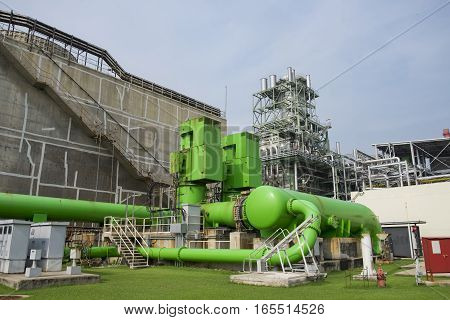 Circulating water pump of cooling water in combine cycle power plant
