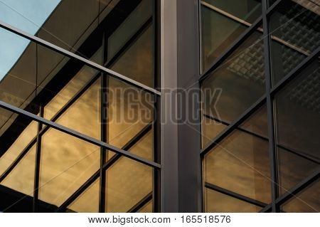 Contemporary Modern Office Building Construction