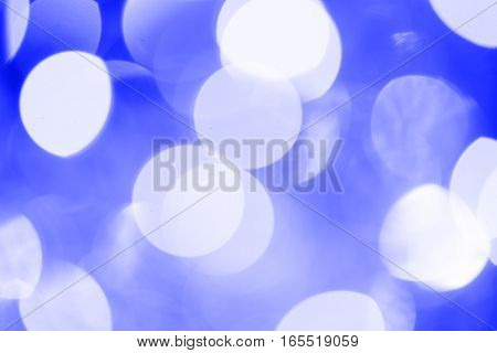 Vintage Magic Background With Blue Color Festive background with natural bokeh