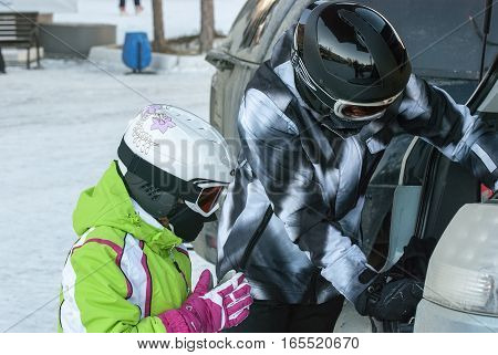 Training Of The Young Skier