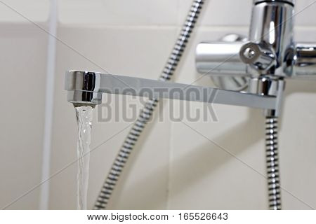 sanitary faucet bathroom for hygiene of the body