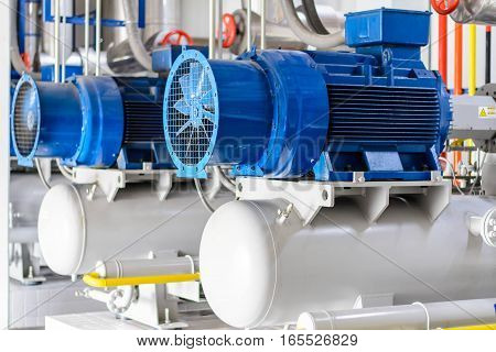 Industrial compressor refrigeration at manufacturing ,Compressor refrigeration at manufacturing in Asia