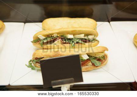 Fresh Sandwich In Fridge On Sale