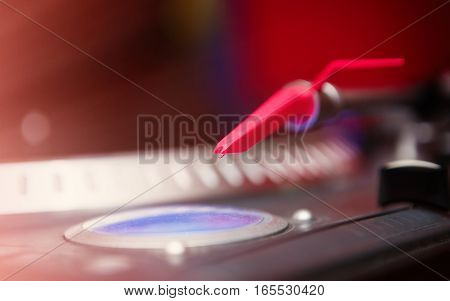 Hip Hop Dj Audio Vinyl Record Disc Player Turntable Needle