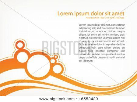Orange positive design