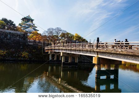 Bridge To Osaka Castle