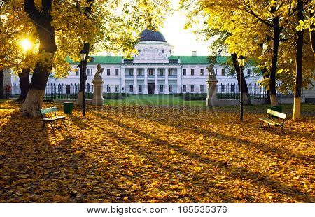 The Palace In The Estate Kachanovka  Chernigov Region Ukraine