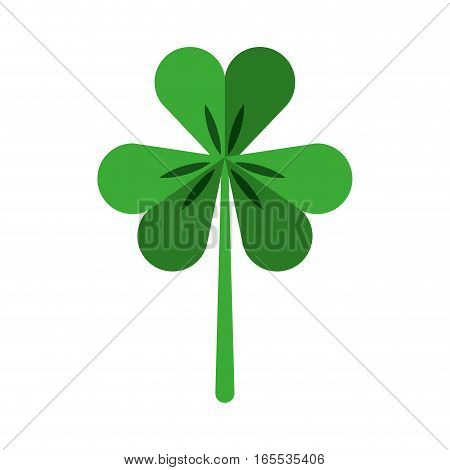 Saint patricks clover icon vector illustration design