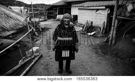 Akha Smile Tribe , Chiang Rai