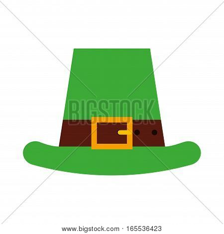 Irish elf hat icon vector illustration design