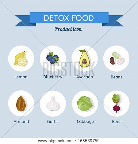 Food to cleanse the body. Detox diet