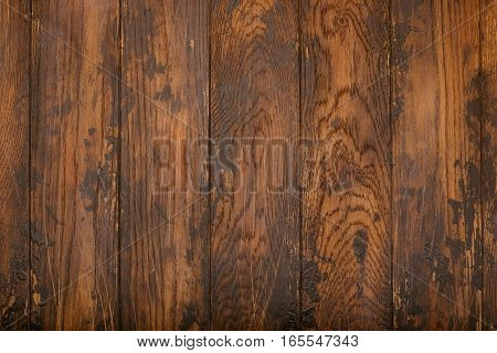 Wooden background. Old texture. Vintage. Table. Rustic.