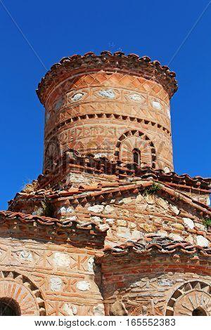 Panagia Koumbelidiki church in Kastoria, northern Greece