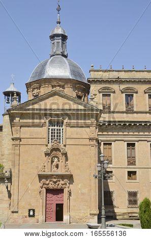 Church of San Sebastian in Salamanca Spain.