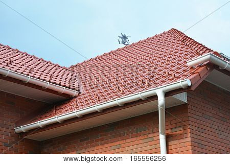 House Problem Areas for Rain Gutter Waterproofing. Guttering Gutters Plastic Guttering Guttering & Drainage. Guttering Down pipe Fittings poster