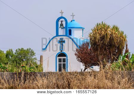 Traditional Greek Church, Kos island, Dodecanese, Greece