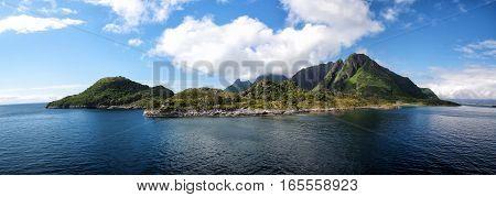 Beautiful Landscape Of Blue Sea