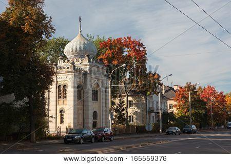 Karaim Kenesa In Vilnius, Lithuania