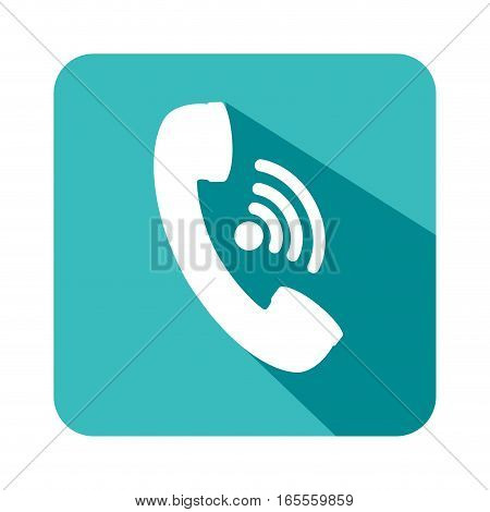 telephone service isolated icon vector illustration design