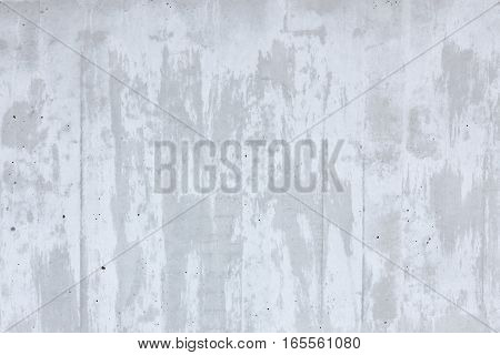 Simple flat gray concrete wall background texture