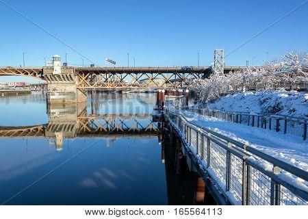 Portland And Snow