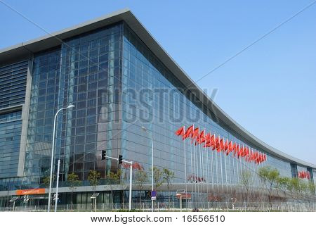 BEIJING - APRIL 26: the swordplay stadium is ready for Beijing 2008 olympic games (August 8, 2008).