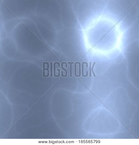 Lighting light blue virtual electrical networ digital background