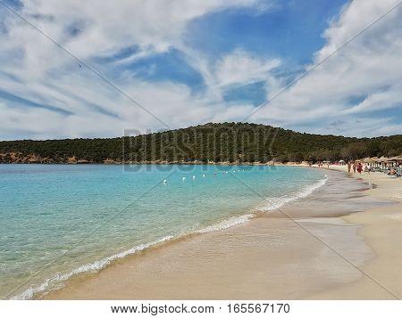 Tuerredda beach - Teulada - Sardinia - Italy - beach and seaside