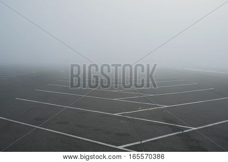 Empty Parking Fog