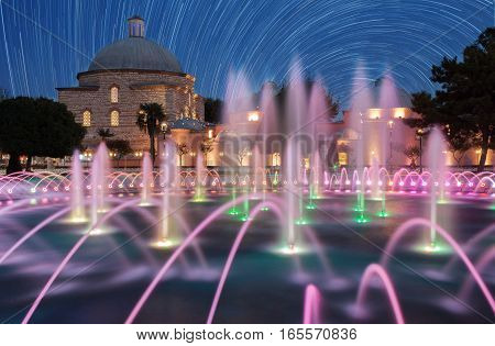 Haseki Hurrem Sultan Hamami and fountain, Istanbul, Turkey