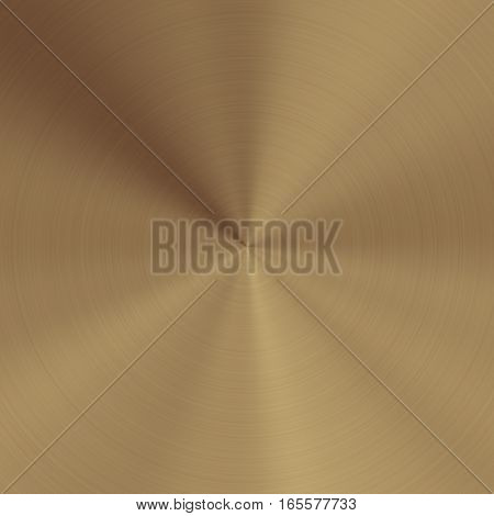 Beige metal design plate with apex shiny background