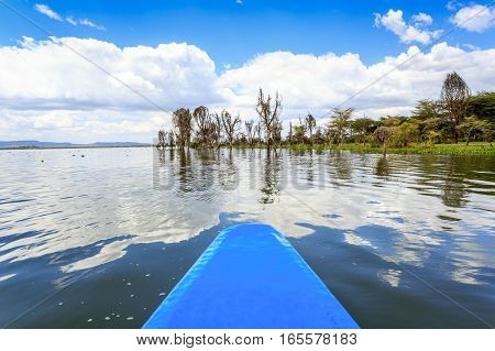 Lake Cruise By Blue Canoe, Naivasha, Kenya