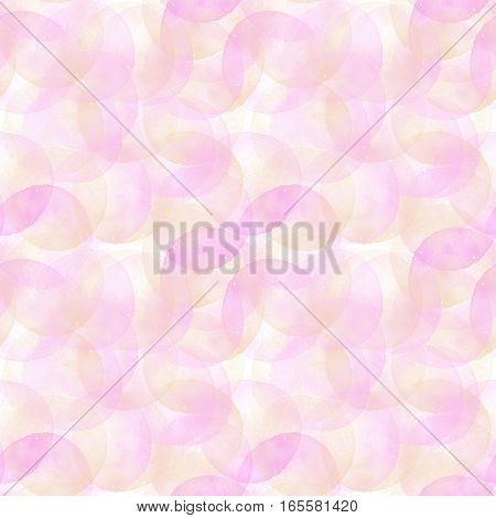 Watercolor seamless pattern. Cool Watercolor  illustration for design