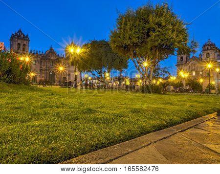 Plaza De Armas, Evening, Cusco