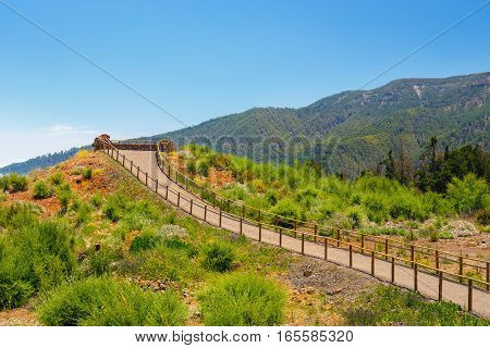 Viewpoint Above The Clouds In Teide National Park In Tenerife, Spain