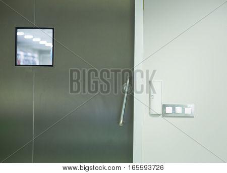 Hospital Surgery Door