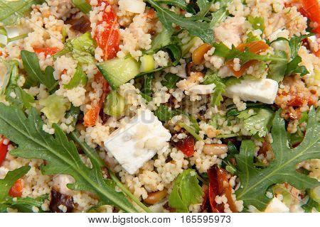 Couscous Salad Close Up