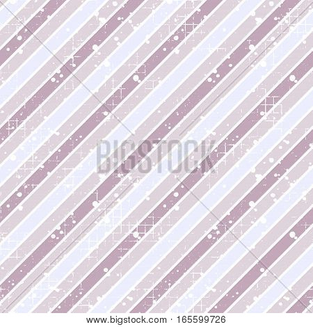Seamless vector striped pattern. pink geometric background with diagonal lines. Grunge texture with attrition cracks and ambrosia. Old style vintage design. Graphic illustration.