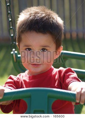 Children-hispanic Toddler Boy