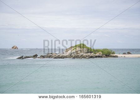 A Small Uninhabited Island In The Gulf Of Thailand.
