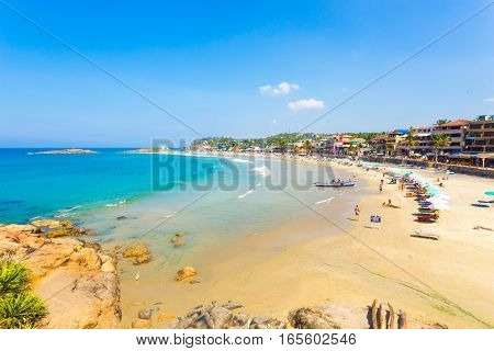 Kovalam Beach Beachfront Hotels Blue Ocean