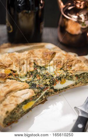 Pasqualina Cake - Tart , Italian Receipt