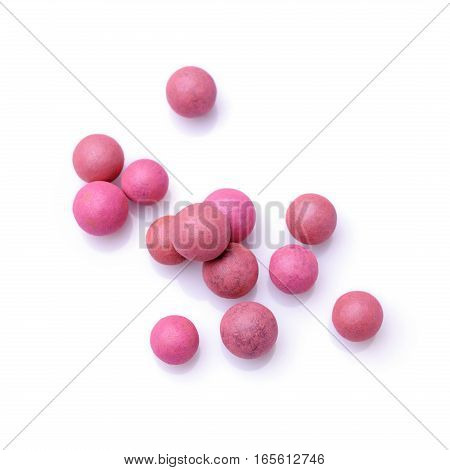 Pink And Beige Blush Balls